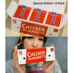 Chicken Nugget Brick Playing Cards