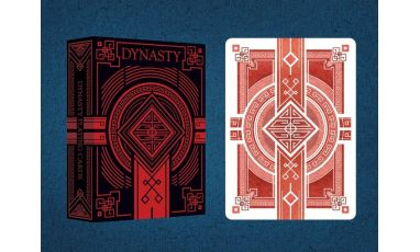 Dynasty Red Imperial Cartes Playing Cards