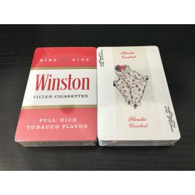 Winston Cigarette Tobacco Promotional Cartes Deck Playing Cards