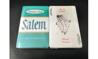 Salem Cigarette Tobacco Promotional Cartes Deck Playing Cards