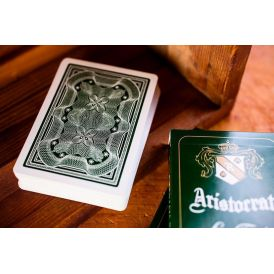 Aristocrat Green Cartes Playing Cards