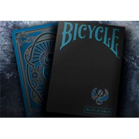 Bicycle Scarab Blue Playing Cards