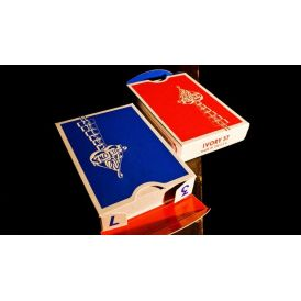 Ace Fulton Casino Dodger Blue V2 Playing Cards