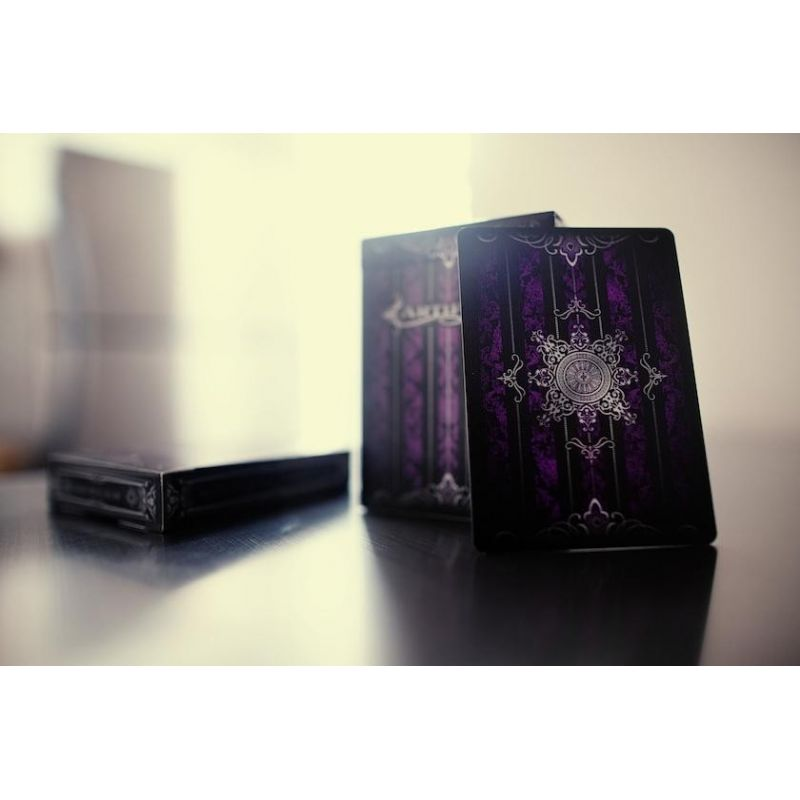 Purple Artifice Playing Cards Deck - Cartes Magie