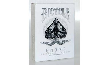 Ghost Version White Cartes Deck Playing Cards