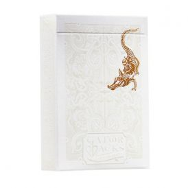 Gold Foil Gatorbacks Deck Playing Cards