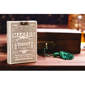 Makers Gold Label White Private Reserve Deck Playing Cards
