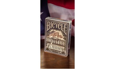 Bicycle U.S. Presidents Blue Cartes Playing Cards