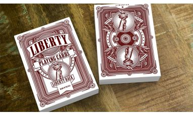 Liberty Red Cartes Deck Playing Cards