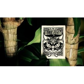 Altruism Snow Owls Deck Playing Cards