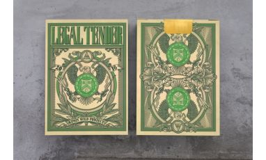 US Legal Tender Deck Playing Cards