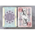 Chinese Legal Tender Deck Playing Cards