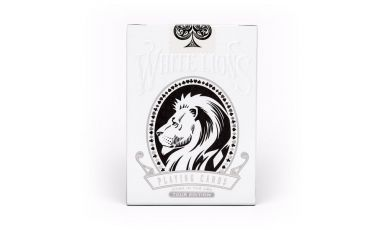 White Lions Tour Black Reverse Deck Playing Cards