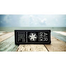 Air Deck Black Cartes Deck Playing Cards