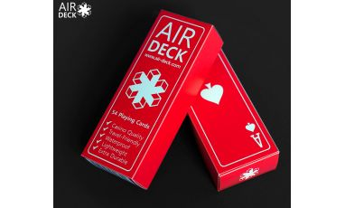 Air Deck Red Cartes Deck Playing Cards