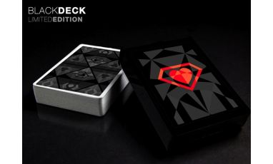 Super Suits Black Limited Cartes Deck Playing Cards