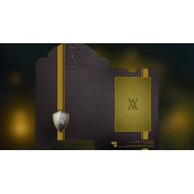 Verve Yellow Deck Playing Cards