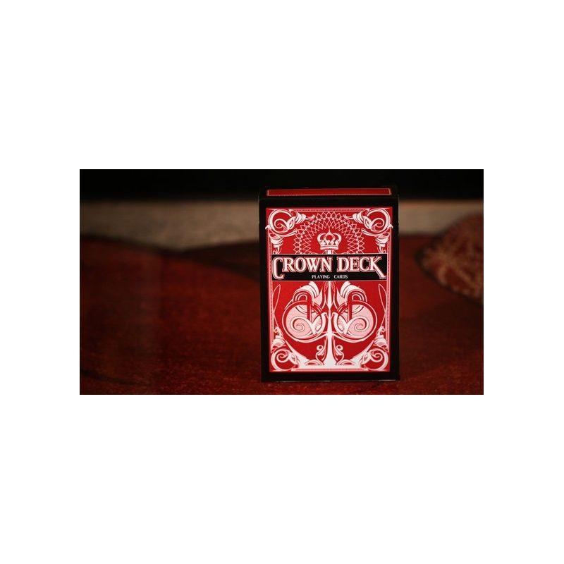 crown deck red v2 playing cards cartes magie