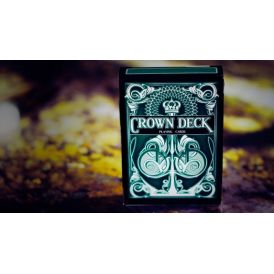 Crown Deck Green V2 Playing Cards