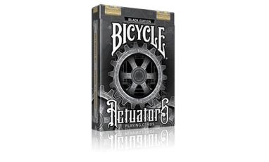 Bicycle Actuators Black Edition Playing Cards Deck