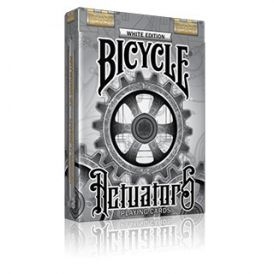 Bicycle Actuators White Edition Cartes