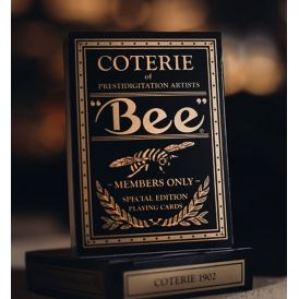 Coterie Bee Gold Edition Playing Cards