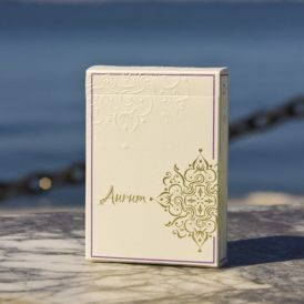 Aurum White Gold Edition Playing Cards