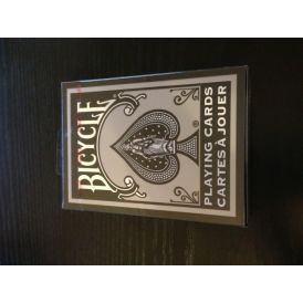 Silver Bicycle Canadian Edition Playing Cards