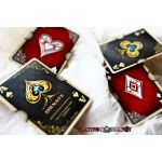 Ornate Deck Scarlet (Red) Playing Cards
