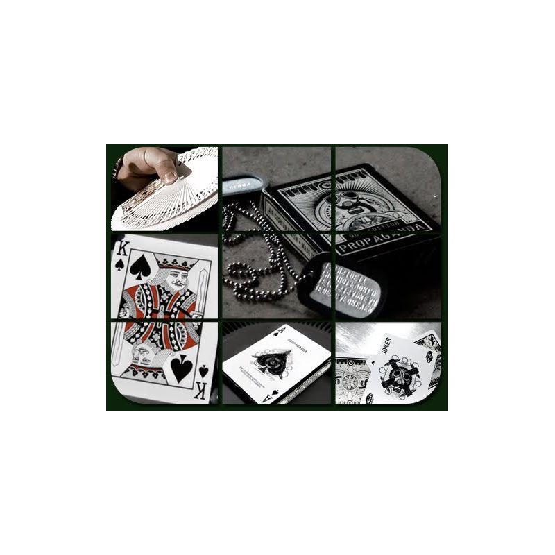 bicycle propaganda playing cards deck cartes magie