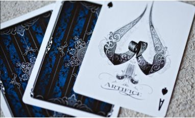 Blue Artifice V2 Cartes Playing Cards Deck