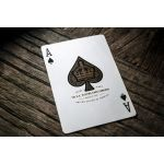 Silver Monarchs Playing Cards