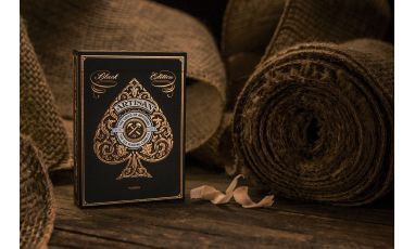 Artisan Black Playing Cards Deck