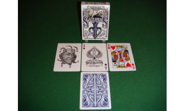 Split Spades Lions Blue 1st Edition Playing Cards Deck