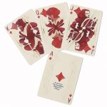 Bohemia Limited Edition Red MISPRINT Playing Cards