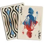 Bohemia Edition Blue MISPRINT Playing Cards