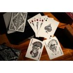 Floral Black Deck Playing Cards