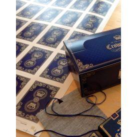 Luxury Crown Deck Uncut Sheet