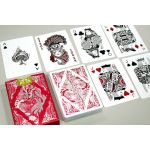 Floral Red Deck Playing Cards