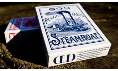 Steamboat Blue Dan & Dave Playing Cards Deck
