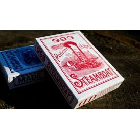 Bicycle Steamboat Red Dan & Dave Playing Cards