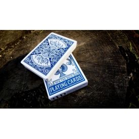 Bicycle New Fan Back Blue Dan & Dave Playing Cards