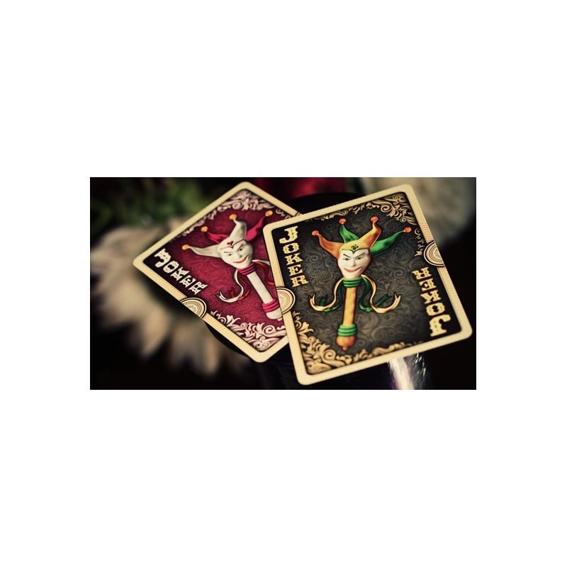 Ornate Deck Emerald (Green) Playing Cards